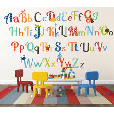 Zoomie Kids Hipple Alphabet Wall Decal Reviews Wayfair