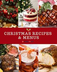 Christmas Recipes and Menus