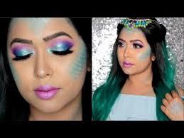 mermaid princess makeup tutorial