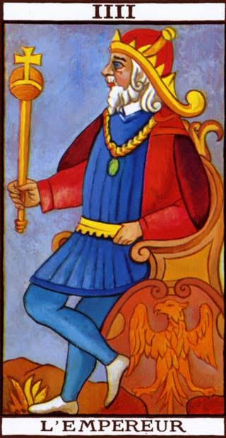 Resultado de imagem para o imperador tarot