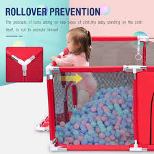 Baby Playpen Portable Pool Balls Fencing For Children Folding Child Safety Fence Barriers Newborn Travel Basketball Hoop Baby Playpens Aliexpress