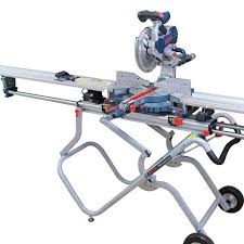 Fastcap Best Fence System For Bosch Gravity Rise Miter Saw Stand Rockler Com Carpentry Tools Woodworking Tools Mitre Saw Stand