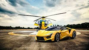 fenyr supersport and helicopter hd
