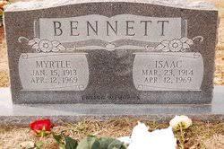 Myrtle Bennett (1913-1969) - Find A Grave Memorial