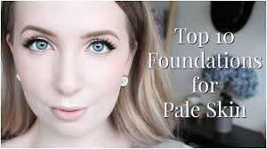 full coverage foundation for pale skin