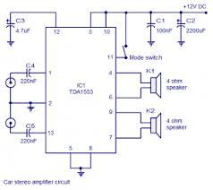 car stereo audio lifier circuit