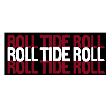 Roll Tide Roll Decal University Of Alabama Supply Store
