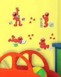 Roommates Sesame Street Elmo Peel Sticker Wall Decals Nursery Wall Paper Vinyl Art Room