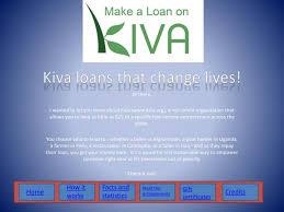 ppt kiva loans that change lives