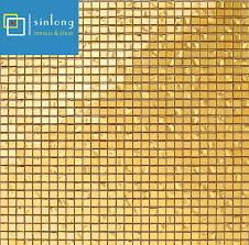 imitation gold textured mixed glass