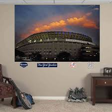 Fathead Mlb New York Yankees Old Stadium Mural Wall Graphic Bed Bath Beyond