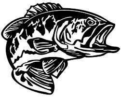 Bass Decal Md5 Vinyl Fishing Boat Sticker Wildlife Decal