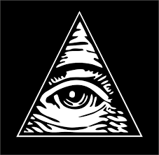 Sticker Decal Art Wall Car Moto Biker Illuminati Pyramid Eye Of Providence Wish