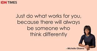 quotes michelle obama yang bikin kamu lebih cintai diri sendiri