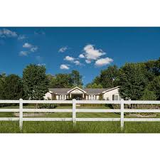Shop Outdoor Vinyl Ranch Garden Gate Fence Border Edging Animal Barrier On Sale Overstock 31690783