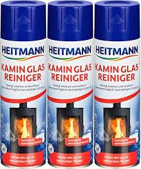 heitmann fireplace glass cleaner 3 pack