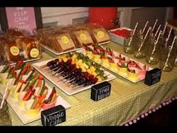 easy party food decorations ideas you