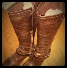 ugg shoes tall brown boots vintage