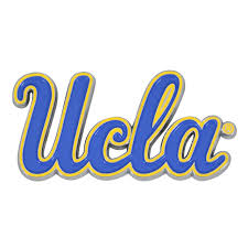 Set Of 2 Ncaa University Of California Los Angeles Ucla Bruins Color Emblem Automotive Stick On Car Decal Christmas Central