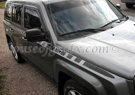 Body Strobe Cuda Style Stripe Graphics Decals Fits Jeep Patriot 054 Patriot 57 00 House Of Grafx Your One Stop Vinyl Graphics Shop