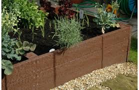 recycled plastic raised bed marmax