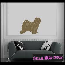 Dogs Companion Tibetan Terrier Wall Decal Wall Sticker Wall Mural Swd