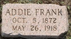 "Adaline Frank ""Addie"" Hughes Hanley (1872-1919) - Find A Grave Memorial"