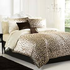 leopard print bedroom