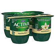 dannon activia low fat vanilla yogurt