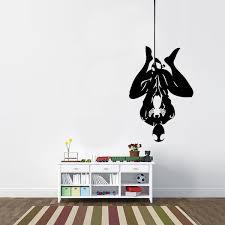 Hanging Spiderman Vinyl Wall Decal Cosmic Frogs Vinyl