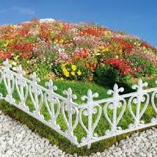 Square Type Picket Fence Edging White Taiwantrade Com