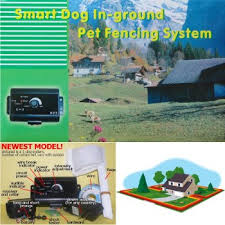 Underground Invisible Dog Fence System With Electric Shock Collar 4 Dog
