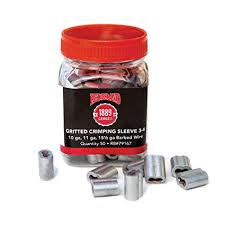 Red Brand Crimp Sleeves For Size 4 5 Fence Wire Qty 50 Connectors Hbdservices Com