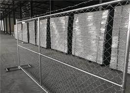 Buy Portable Chainlink Fence Panels 6ft X 12ft 6ft X 10ft O D 1 1 4 And 1 3 8