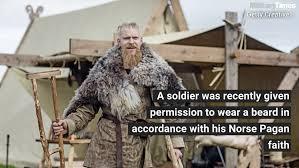 authorization to wear a beard