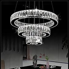 crystal pendant light modern lighting