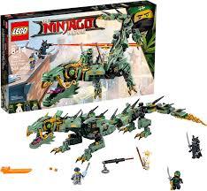 Amazon.com: LEGO NINJAGO Movie Green Ninja Mech Dragon 70612 Ninja Toy with  Dragon Figurine Building Kit (544 Pieces): Toys & Games