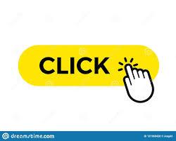 Haga Clic La Plantilla Del Icono Del Botón De La Web Del Vector De ...