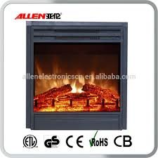 fake flame electric fireplace insert