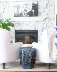 stone fireplace painting guide brick