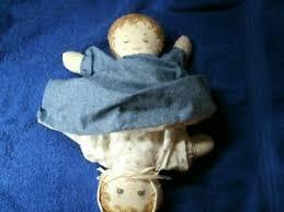 topsy turvy cotton stuffed doll