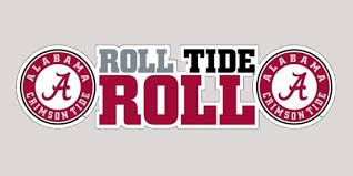 Alabama Crimson Tide Roll Tide Roll Premium Etsy