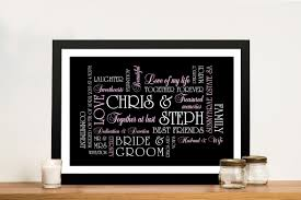 the big day wedding art gifts