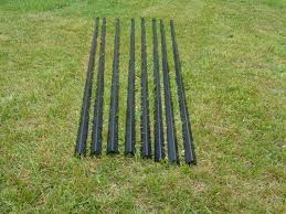 9 Tall Freedom Fence Posts 8 Pack Of Deer Fence Posts