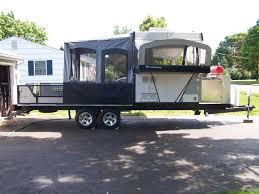 toy hauler or travel trailer