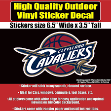 Cleveland Cavaliers Cavs Vinyl Bumper Car Window Sticker Decal Vinyl Bumpers Window Stickers Car Window Stickers