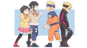 Himawari, Hinata, Naruto and Boruto Papel de Parede HD