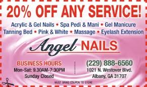 20 off any service angel nails