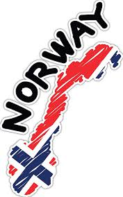 Amazon Com 4 All Times Norway Automotive Car Decal For Cars Trucks Laptops 5 0 W X 8 0 H Automotive