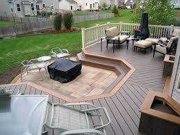 top 50 best deck fire pit ideas wood